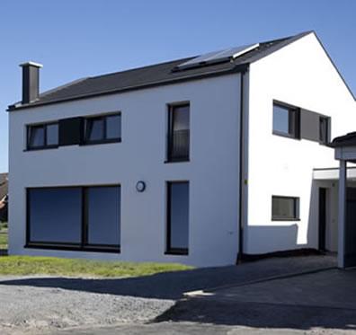 Ansprechend Bilder Einfamilienhaus Neubau Modern Ideen